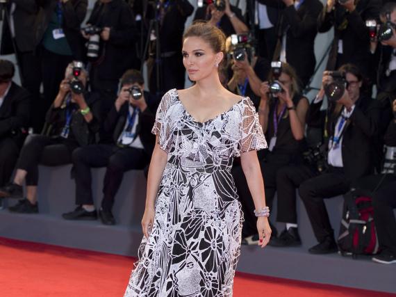 Natalie Portman auf der Premiere des Biopics