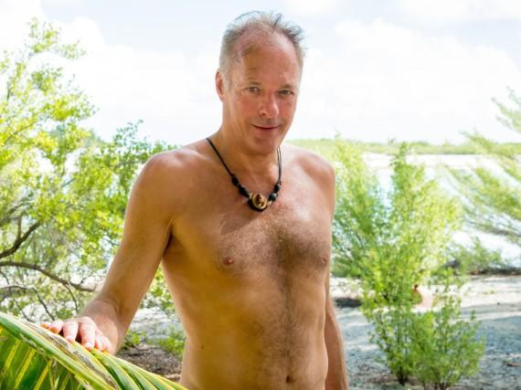 Der ehemalige Richter Ronald Schill wird als Neuzugang auf der Insel der Versuchung stranden
