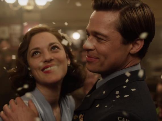 Brad Pitt und Marion Cotillard in