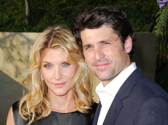 Patrick Dempsey mit seiner Frau Jillian