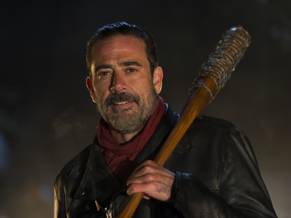 Jeffrey Dean Morgan als Bösewicht Negan