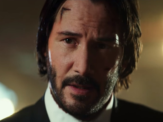 Keanu Reeves macht in