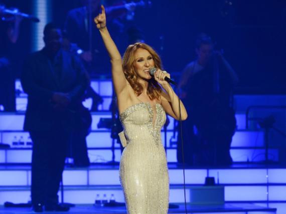 Céline Dion bei ihrem 1.000 Auftritt in Las Vegas
