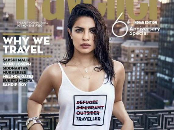 Rassistisch oder nicht? Dieses Magazin-Cover von Priyanka Chopra erhitzt die Gemüter