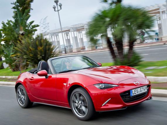 Der Mazda MX-5 überzeugt auch in der vierten Generation