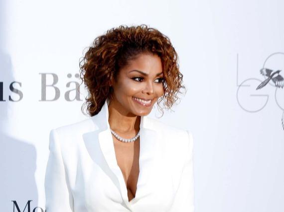 Noch ohne Babybauch: Janet Jackson 2013 beim Filmfestival in Cannes