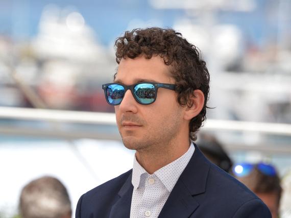 Shia LaBeouf - hier bei den Filmfestspielen in Cannes - zeigt der Welt gerne mal sein Pokerface