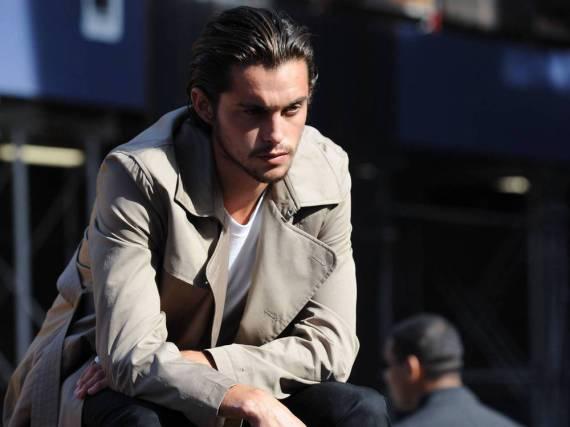 Dylan Rieder skatete nicht nur, er modelte auch - wie hier bei einem Shooting in New York für DKNY