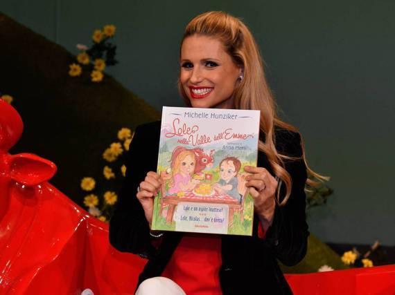 Bunt und kindgerecht: Michelle Hunziker präsentiert ihr erstes Kinderbuch