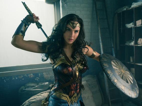 Schon bald in den Kinos zu bestaunen: Gal Gadot als Wonder Woman
