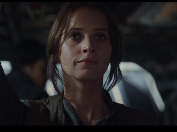 Felicity Jones als Jyn Erso im neuen Trailer zu