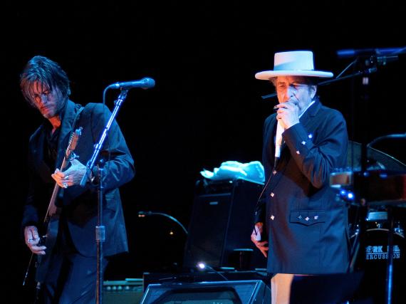 Bei seinem ersten Konzert nach dem Gewinn des Nobelpreises hatte Bob Dylan nichts über die Auszeichnung zu sagen