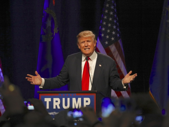 Alles oder nichts? Wenn es mit dem Amt des Präsidenten nicht klappt, könnte Donald Trump bald ohne TV-Job dastehen