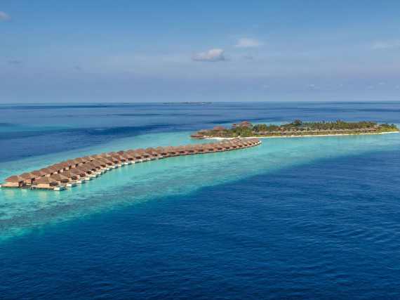Das neue Luxusresort Hurawalhi Island