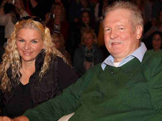 Tamme Hanken und seine Frau Carmen