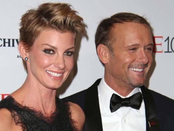 Seit 20 Jahren glücklich verheiratet: Faith Hill und Tim McGraw