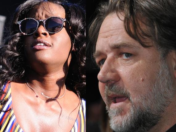 Azealia Banks wurde von Russell Crowe aus dem Hotel geschmissen