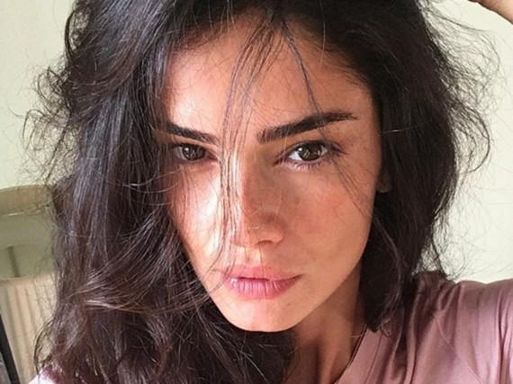 Natürlich schön: Shermine Shahrivar postet gerne auch mal Fotos ohne Make-up