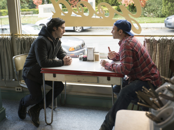 Jess (Milo Ventimiglia, l.) und Luke (Scott Patterson) in Luke's Diner