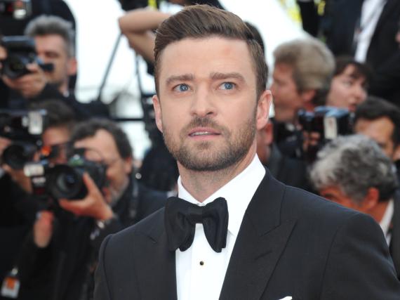 Justin Timberlake auf dem roten Teppich in Cannes