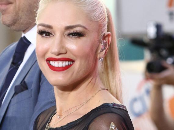 Gwen Stefani bei einem Auftritt in New York City