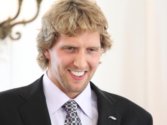 Da freut sich jemand: Dirk Nowitzki wird bald wieder Vater