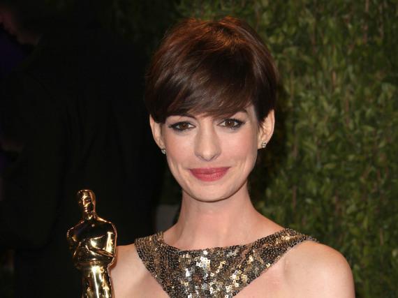 Zwar strahlte Anne Hathaway nach der Oscar-Verleihung, aber eigentlich war sie nicht glücklich