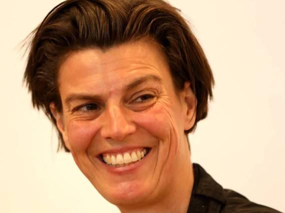 Carolin Emcke auf der Frankfurter Buchmesse