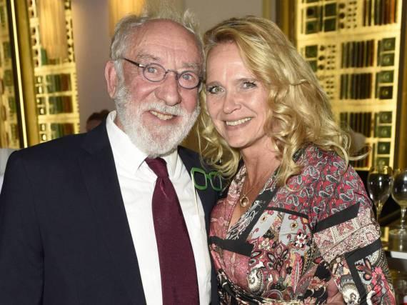 Verliebtes Paar: Dieter Hallervorden und Christiane Zander