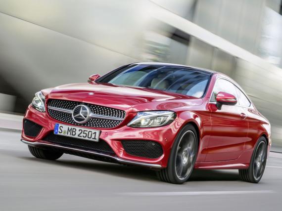 Attraktive Erscheinung: Mercedes-Benz C300 Coupé