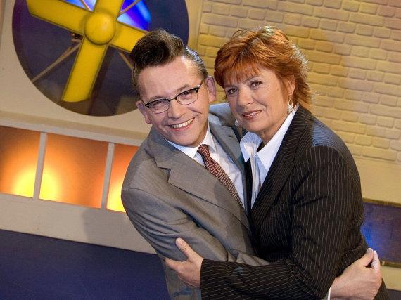 Sie waren ein eingespieltes Team: Christine Westermann und Götz Alsmann