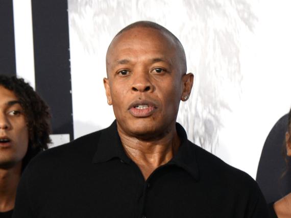 Dr. Dre im Sommer 2015 bei der Premiere der Doku