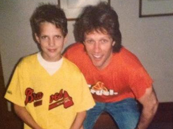 Jimi Blue Ochsenknecht und Jon Bon Jovi