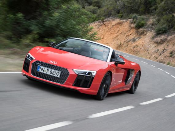 Ein Motorsportler in Serie: Audi R8 Spyder