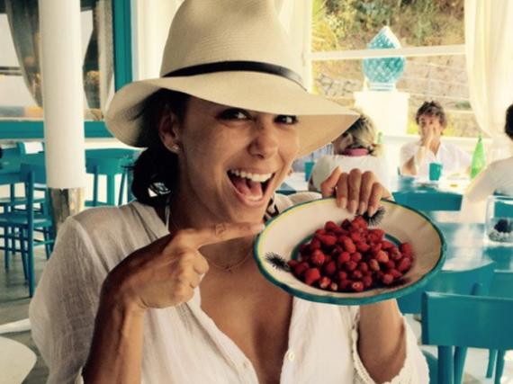 Sie kennt sich aus mit gesunden Lebensmitteln: Eva Longoria