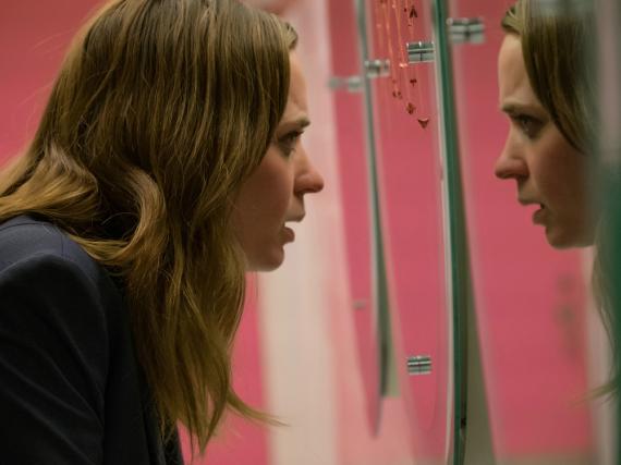 Rachel (Emily Blunt) hat Schwierigkeiten sich zu orientieren