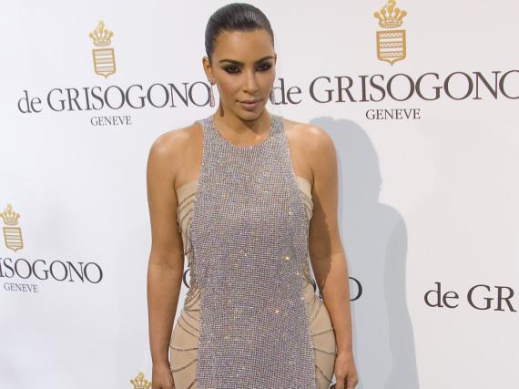Kim Kardashian hat sich in der Öffentlichkeit rar gemacht
