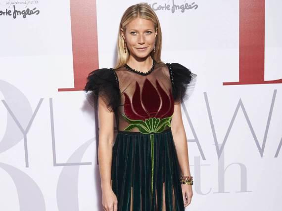Gwyneth Paltrow auf dem roten Teppich bei der