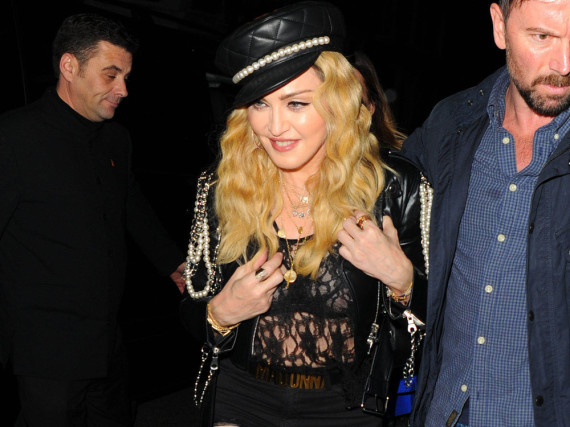Madonna macht auf Rock-Chick