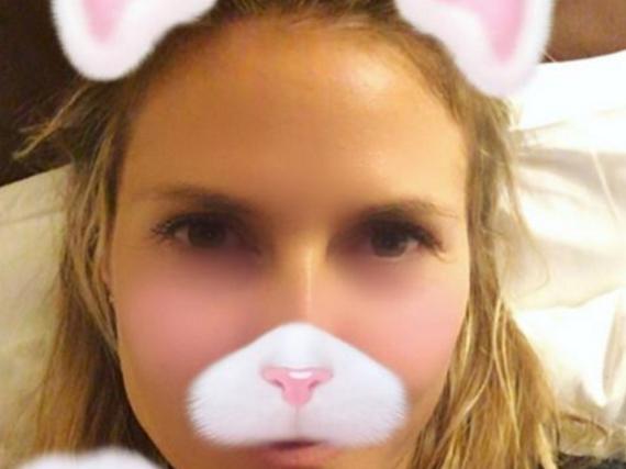 Ob sich Heidi Klum Halloween als Katze zeigt?