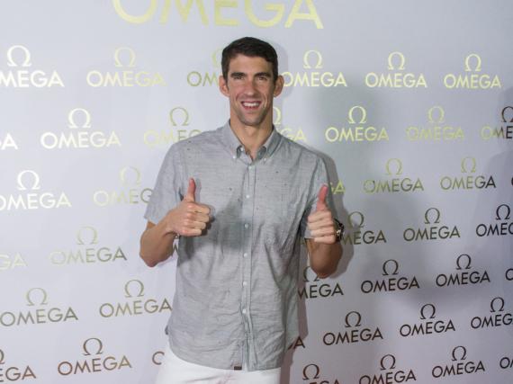 Während der Olympischen Spiele in Rio de Janeiro im Sommer 2016 trug Michael Phelps keinen Ehering