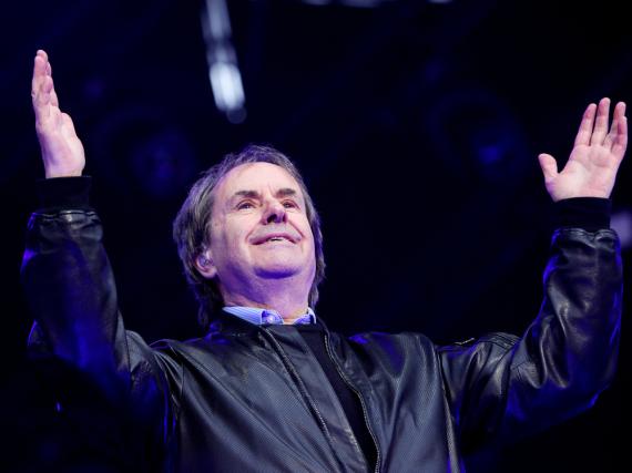 Chris de Burgh bei einem Auftritt auf dem Life Festival in Oswiecim