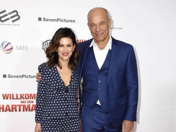 Heiner Lauterbach und seine Frau Viktoria sind seit 2001 glücklich verheiratet