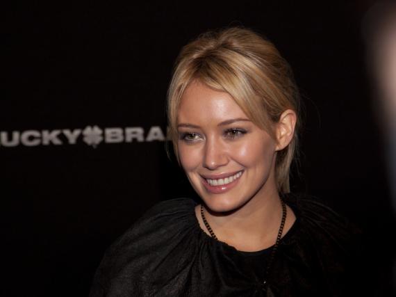 Hilary Duff wurde bereits mit 14 Jahren durch ihre Rolle in der Disney-Serie