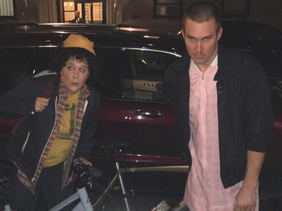 In diesen Looks besuchten Amy Schumer und ihr Freund Ben Hanisch eine Halloween-Party