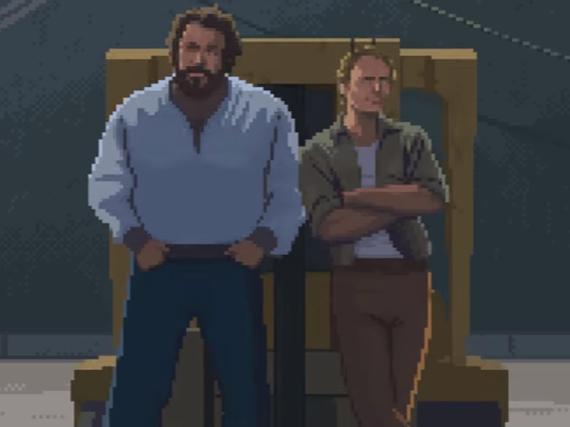 Bud Spencer und Terence Hill werden zu Computerspiel-Helden
