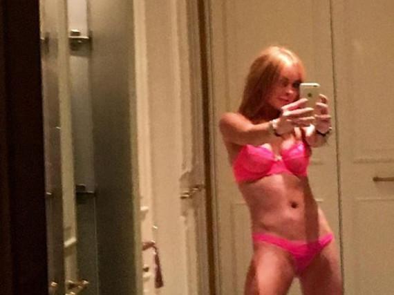 Im etwas anderen Halloween-Kostüm: Lindsay Lohan