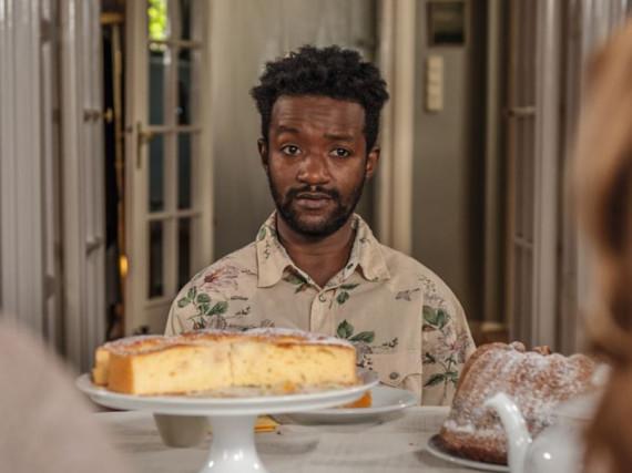 Eric Kabongo spielt den Flüchtling Diallo Makabouri im Film