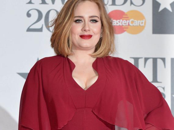 Adele bei den Brot Awards