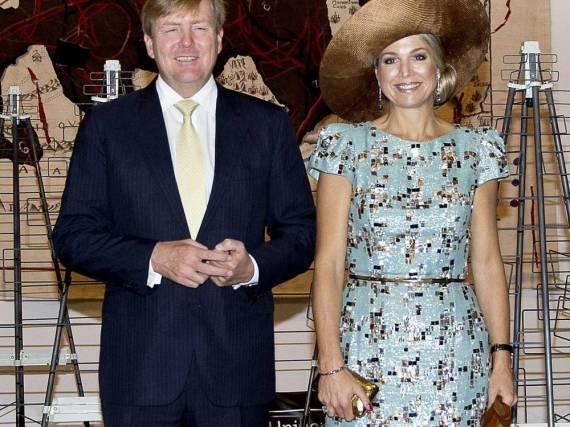 Willem-Alexander und Máxima der Niederlande in Australien
